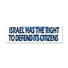 Israel Has a Right to Defend its Citizens Car Magn