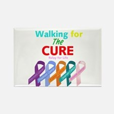 Walking for the CURE Rectangle Magnet