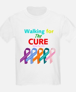 Walking for the CURE T-Shirt