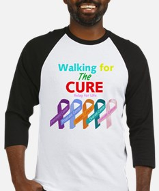 Walking for the CURE Baseball Jersey