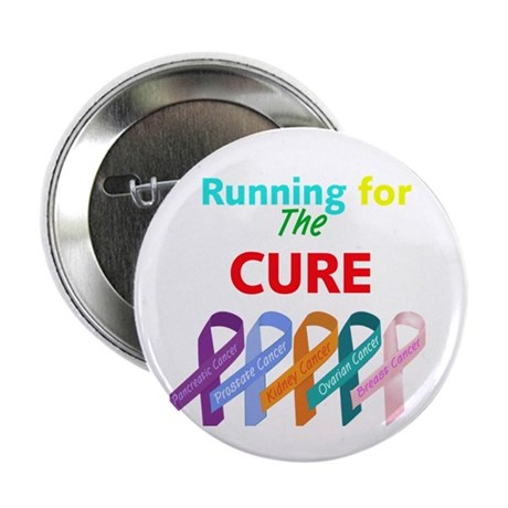 "Running for the CURE 2.25"" Button (10 pack)"