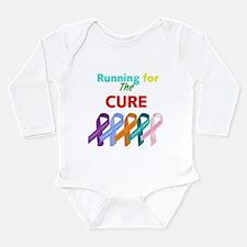 Running for the CURE Long Sleeve Infant Bodysuit