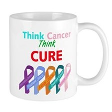 Think Cancer, Think CURE Mug