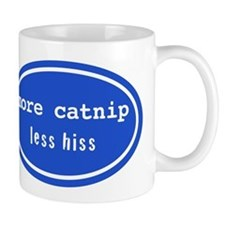 More catnip less hiss (Mug)