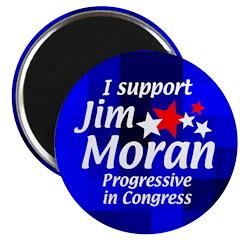 Jim Moran Campaign Magnet