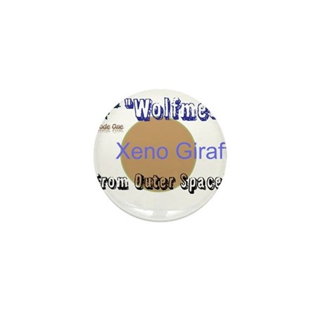 Wolfmen From Outer Space Mini Button (100 pack)