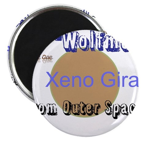 Wolfmen From Outer Space Magnet