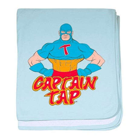 Captain Tap! baby blanket