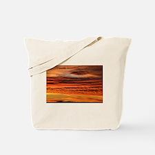 Unique Sunset clouds Tote Bag