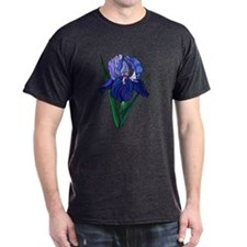 Stained Glass Iris T-Shirt