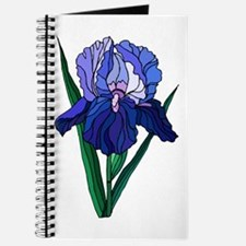 Stained Glass Iris Journal