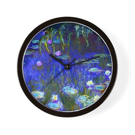 Monet - Water Lilies 1922 Wall Clock