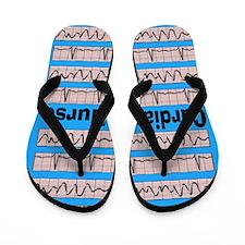 Cardiac Nurse Flip Flops
