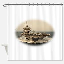 USS Enterprise Shower Curtain