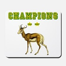 Springbok Rugby Champions Mousepad