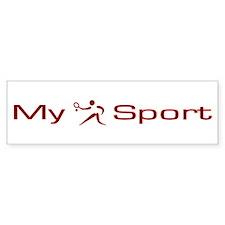 My Sport - Tennis Bumper Sticker