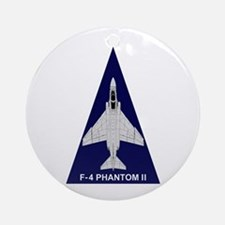 F-4 Phantom Ornament (Round)