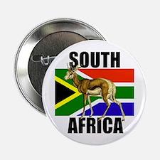 """South Africa Springbok 2.25"""" Button"""