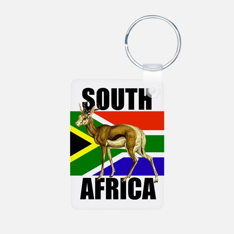 South Africa Springbok Keychains