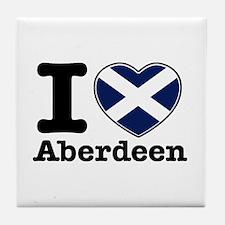 I love Aberdeen Tile Coaster