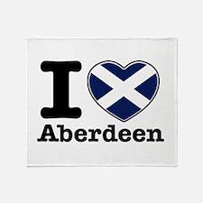 I love Aberdeen Throw Blanket