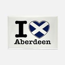 I love Aberdeen Rectangle Magnet