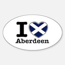 I love Aberdeen Decal