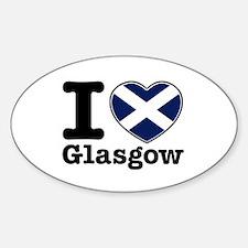 I love Glasgow Decal