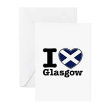 I love Glasgow Greeting Cards (Pk of 20)