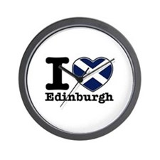 I love Edinburgh Wall Clock