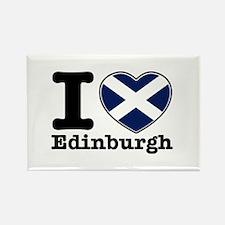 I love Edinburgh Rectangle Magnet