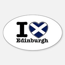 I love Edinburgh Decal