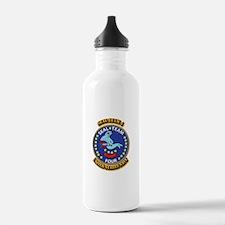 US - NAVY - Seal Team 4 Water Bottle