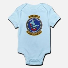 US - NAVY - Seal Team 4 Infant Bodysuit