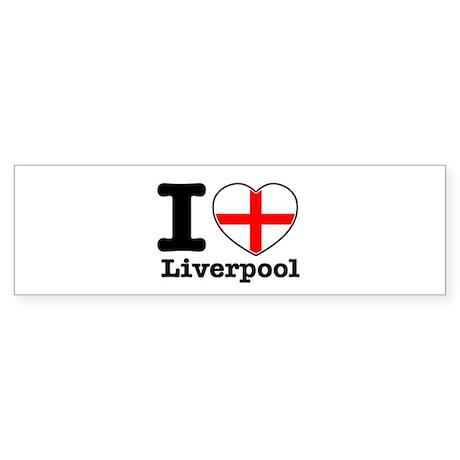 I love Liverpool Sticker (Bumper 10 pk)