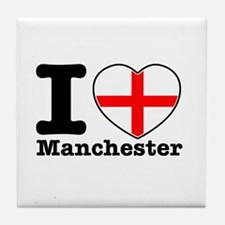 I love Manchester Tile Coaster