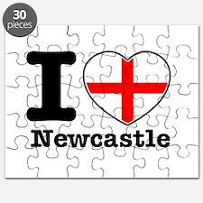 I love Newcastle Puzzle