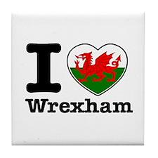 I love Wrexham Tile Coaster