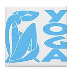 Let's Yoga Tile Coaster
