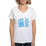 Let's Yoga Women's V-Neck T-Shirt
