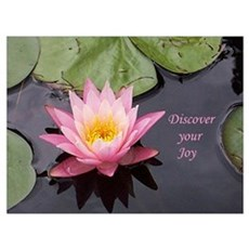 Discover Your Joy Wall Art Framed Print