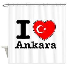 I love Ankara Shower Curtain