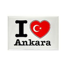 I love Ankara Rectangle Magnet