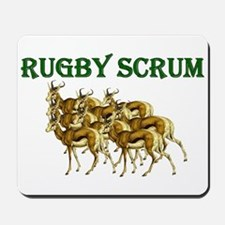 Springbok Rugby Scrum Mousepad