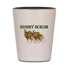 Springbok Rugby Scrum Shot Glass