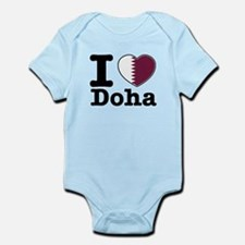 I love Doha Infant Bodysuit