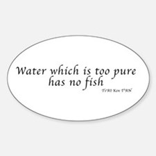 Water which is too pure Decal