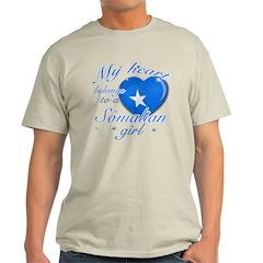 Somalian Valentine's designs T-Shirt