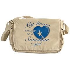 Somalian Valentine's designs Messenger Bag
