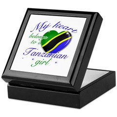 Tanzanian Valentine's designs Keepsake Box